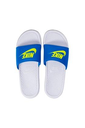 Chinelo Nike Benassi JDA Branco/Azul