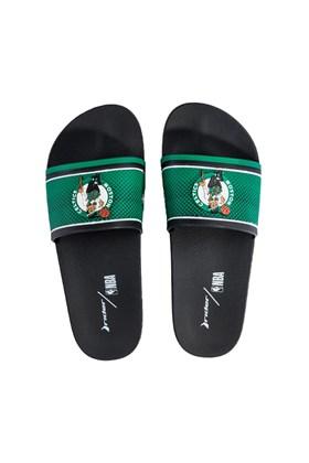 Chinelo Slide Rider Full 86 NBA Boston Celtics Preto/Verde