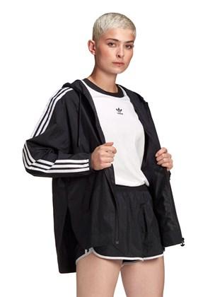Jaqueta Adidas Adicolor Classics Windbreaker Preta/Branca