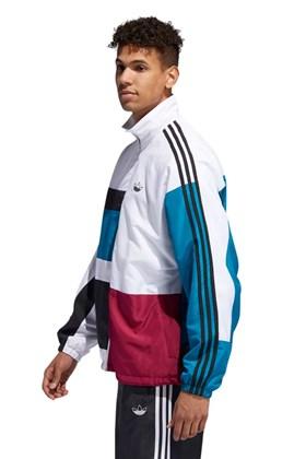 Jaqueta Adidas Asymm Track Branco/Azul/Bordo