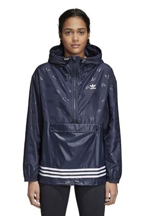 Jaqueta Adidas Corta Vento WB Feminina Azul
