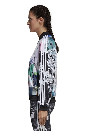 Jaqueta Adidas Oversized x Farm Feminina Multicor