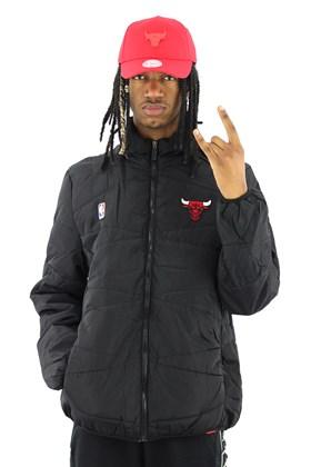 Jaqueta NBA Chicago Bulls Estofada Preta