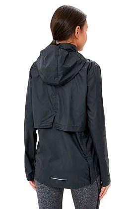 Jaqueta Nike Corta Vento Essential Packable Capuz Feminina Preta