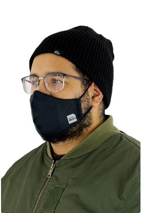 Mascara NewSkull Refletiva Neoprene Dupla Preta