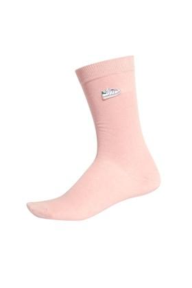 Meia Adidas Stan Smith Cano Alto Rosa