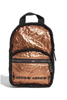 Mochila Adidas Mini Dourada