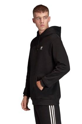 Moletom Adidas Originals Capuz Essentials Preto/Branco