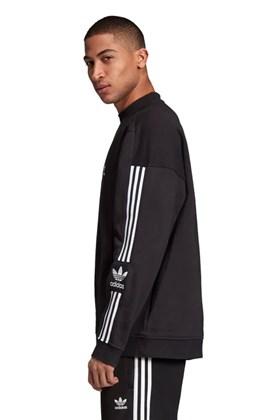 Moletom Adidas Tech Crewneck Careca Preto