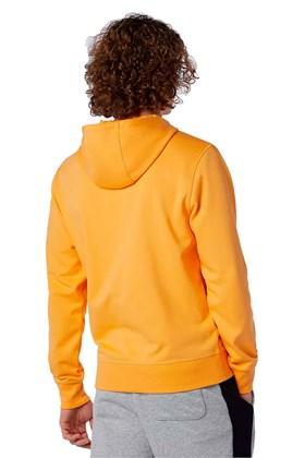 Moletom New Balance Essentials Stacked Amarelo/Branco