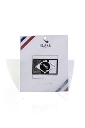 Pingente Blaze Supply Flag Prata