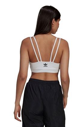 Regata Adidas Top Adicolor Classics Branca/Preta