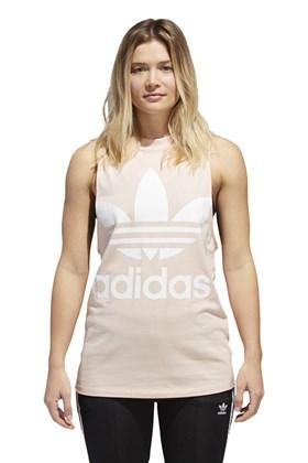 Regata Adidas Trefoil Feminina Rosa