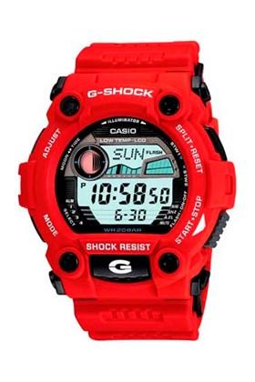 Relógio Casio G-Shock Tábua de Maré G-7900A-4DR Vermelho