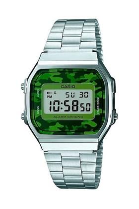 Relógio Casio Vintage Prata Camuflado A168WEC-3DF