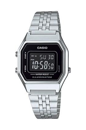 Relógio Casio Vintage Prata LA680WA-1BDF