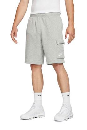 Short Nike Sportswear Club Cinza/Branco