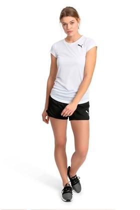 Shorts Puma Active Woven Preto/Branco