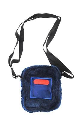 Shoulder Bag Fila Fbox Fur Pelucia Azul/Vermelha