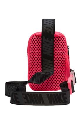 Shoulder Bag Nike Sportswear Essentials Unissex Rosa/Preta