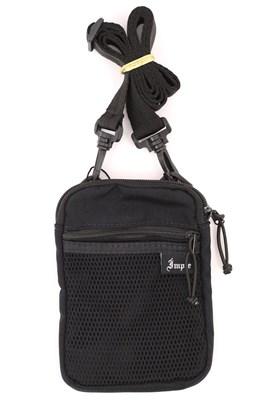 Shoulderbag IMPIE Slim CORDURA® Preta/Preta