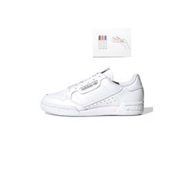 Tenis Adidas Continental 80 Branco/Branco