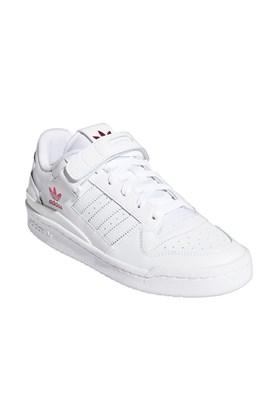 Tênis Adidas Forum Low Feminino Branco/Rosa