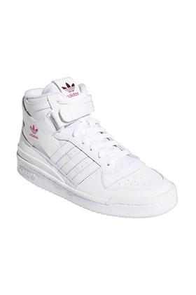 Tênis Adidas Forum Mid Feminino Branco/Rosa