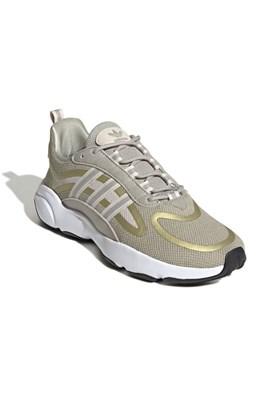Tenis Adidas Haiwee Bege/Dourado