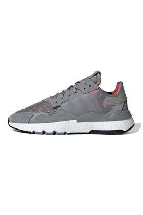 Tenis Adidas Nite Jogger 3M Cinza/Branco