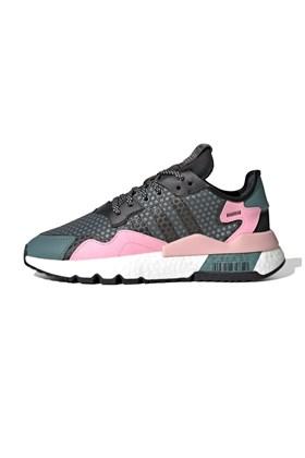 Tenis Adidas Nite Jogger 3M Feminino Verde/Rosa