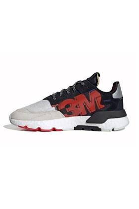 Tenis Adidas Nite Jogger 3M Refletivo Preto/Cinza