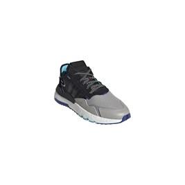 Tenis Adidas Nite Jogger 3M Refletivo Preto/Roxo