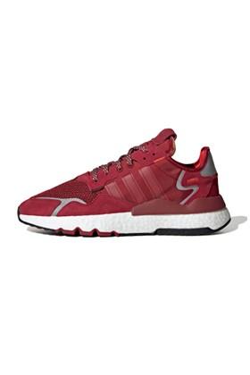 Tenis Adidas Nite Jogger 3M Vermelho/Branco