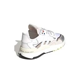 Tenis Adidas Nite Jogger Branco/Prata