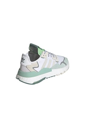 Tenis Adidas Nite Jogger Feminino Branco/Verde