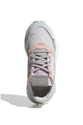 Tenis Adidas Nite Jogger Feminino Cinza/Rosa