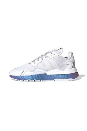 Tenis Adidas Nite Jogger Metalic Boost Branco