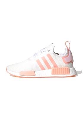 Tenis Adidas NMD R1 Feminino Branco/Rosa