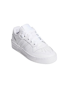 Tenis Adidas Rivalry Low Feminino Branco/Branco