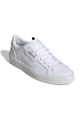 Tenis Adidas Sleek Feminino Branco/Branco