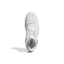 Tenis Adidas Streetball Branco/Agua