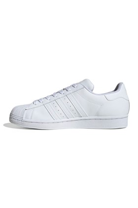 Tenis Adidas Superstar 50 anos Branco/Branco