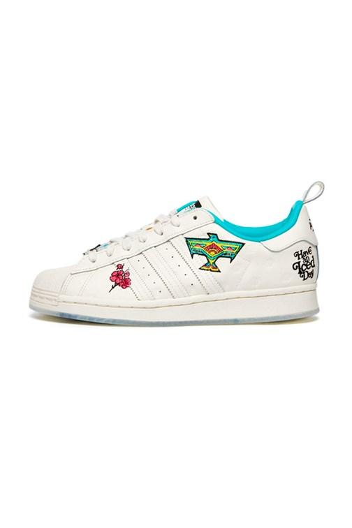 Tenis Adidas Superstar Arizona Branco/Verde