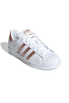Tenis Adidas Superstar Feminino Branco/Cobre