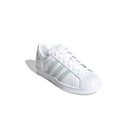 Tenis Adidas Superstar Feminino Branco/Verde