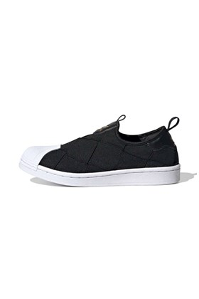Tenis Adidas Superstar Feminino New Slip On Preto