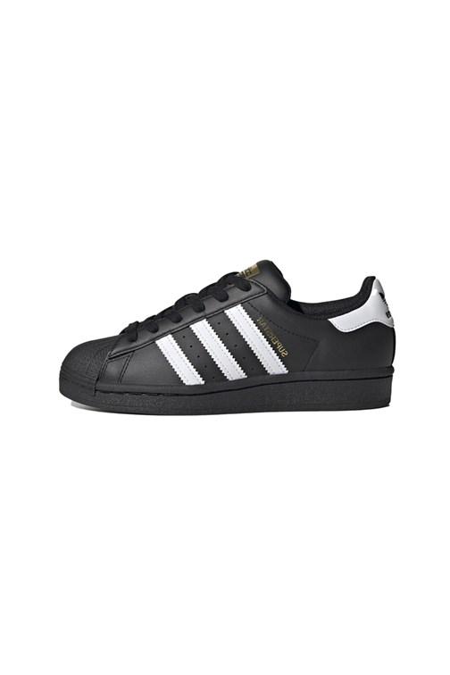 Tênis Adidas Superstar Feminino Preto/Branco