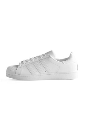 Tênis Adidas Superstar Foundation Branco/Branco