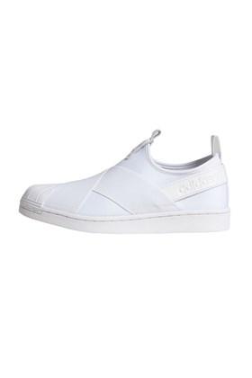 Tenis Adidas Superstar Slip-On Feminino Branco/Branco